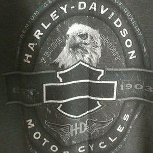 Vintage Harley Davidson Deadwood South Dakota